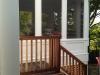 New porch & entrance